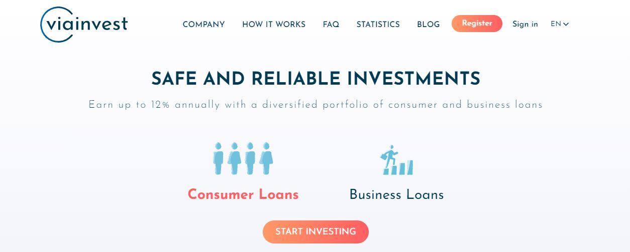 ViaInvest - De marktplaats voor beleggen in leningen